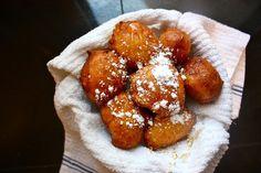 vanilla bean ricotta doughnuts