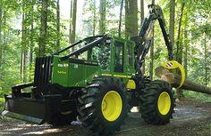 john deere | Timberjack-Forstmaschinen produziert. Im Jahre 2000 kaufte John Deere ...