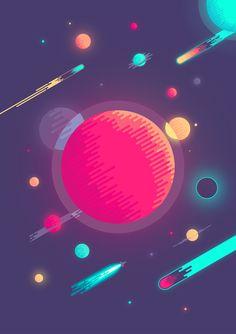 The Big Planet Art Print
