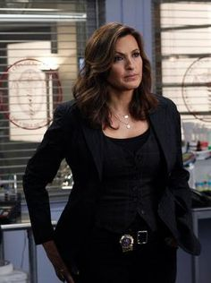 Detective Olivia Benson - Law & Order SVU...Mariska Hargitay...Season 13