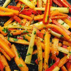 Appelsinkaramelliserede gulerødder - Sisterfood