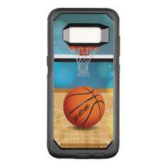 Basketball Design Otter Box OtterBox Commuter Samsung Galaxy S8 Case
