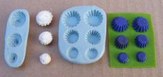 1:12 Scale 2 Part Cup Cake Mold/Mould Set Dolls House Miniature Food Accessory | eBay