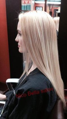 Wendee Hanlon of Nico Bella Salon transformed a client& level 7 hair into a light, bright, multidimensional blonde and shares the formula with MODERN. Cool Blonde Hair Colour, Hair Color Formulas, Hair Photo, Great Hair, Hair Dos, Gorgeous Hair, Pretty Hairstyles, New Hair, Hair Inspiration