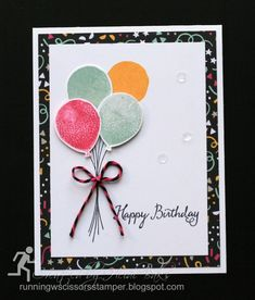 Balloon Birthday-Stamps: Balloon Celebration Paper: It's My Party DSP Read more: http://www.splitcoaststampers.com/gallery/photo/2696030#ixzz436KQIyMF