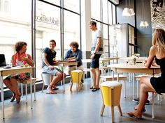 Cool kids—including furniture designers Luke Pedersen (second from left) and James Lennard (standing)— converge at the shop-cum-café Field Office, in Cape Town. Best Places To Travel, Places To See, South African Design, Wale, Volunteer Abroad, Walking Tour, Cape Town, Travel Guides, Cool Kids