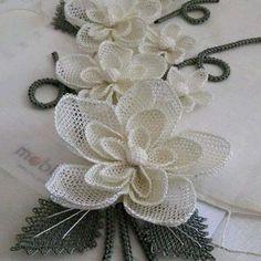 needle lace oya
