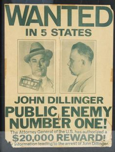 TIL that there were enough discrepancies in famous outlaw John Dillinger's autopsy and oddities in the events leading up to his death to suggest that the FBI killed the wrong man and simply claimed otherwise to escape embarrassment. Real Gangster, Mafia Gangster, Famous Outlaws, Dayton Ohio, Political Events, Mug Shots, Found Out, Number One, American History