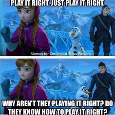 Probably what my band director thinks to himself every practice