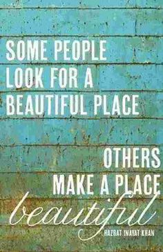 Make your world beautiful