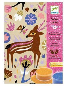 Djeco Kunst met Zand en Glitter Wonderlijk Bos