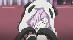 Kawaii Anime Girl with Animal