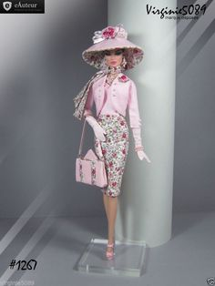 Tenue Outfit Accessoires Pour Fashion Royalty Barbie Silkstone Vintage 1267 | eBay