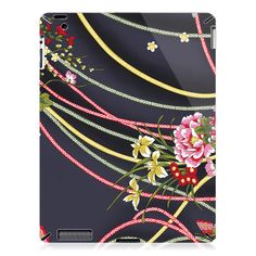 Flowers And Strips iPad 2 Case