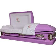 yep, amazon sells caskets! and i now know that i need a purple casket...