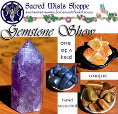NOW: Online Gemstone + Crystal Show + New Chests + FREE ENROLLMENT! - pagan wiccan witchcraft magick ritual supplies