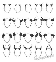 I really like horns, so here, have a set horns,... - sesquii