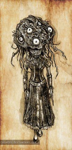 Brain Trust / Bloodborne by CaimRyo