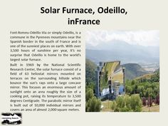 Solar Furnace, Odeillo, inFrance