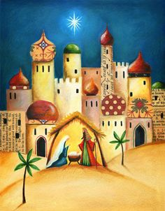 Our key principles are Fairness, Ability, Creativity, Trust and that& a F. Christmas Nativity, Christmas Art, Christmas Projects, Vintage Christmas, Christmas Holidays, Christmas Decorations, Nativity Painting, Three Wise Men, Christmas Drawing