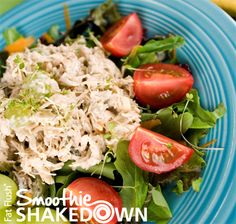 Fat Flush-Friendly Chicken Salad: Official Smoothie Shakedown Recipe