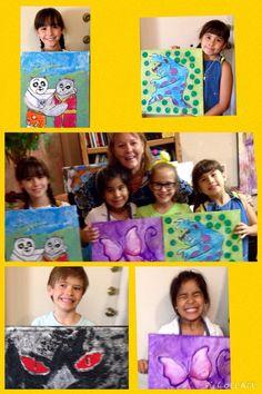 #art #kids Texturas