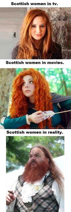 Scottish women…