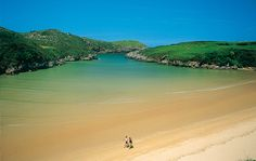 Playa de Poo, Llanes, Asturias: I just to go here since I was a baby! Portugal Vacation, Places In Portugal, Visit Portugal, Places To Travel, Places To See, Travel Destinations, Aragon, Places Around The World, Around The Worlds