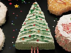 Christmas Tree Cake. Betty Crocker Cake Recipes. This awesome Christmas dessert recipe looks amazing and tastes great too.