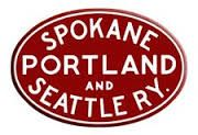 Spokane, Portland and Seattle Railway 1905-1970. 1970 merger of the Great Northern R.R., Northern Pacific R.R., Spokane, Portland and Seattle R.R to form the Burlington Northern R.R..