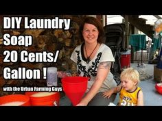 DIY Laundry Soap 20 cents a gallon! Save tons of money, feel good about what you're washing your clothes with and reduce your carbon footprint.