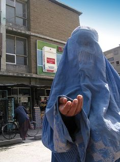 On a street in Kabul, Afghanistan.