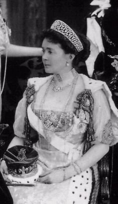 Connaught Kokoshnik Scroll Tiara. Princess Louise Margaret, Duchess of Connaught