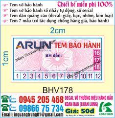 Xưởng in tem bảo hành Quang Trung: Xưởng in tem bảo hành
