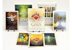 Gaia Oracle will point you in love's direction and help you find the answers you seek.    This kit contains:  - 45 Gaia-inspired images designed to bring peace and healing  - 45 powerful heartfelt messages that offer guidance and clarity  - 45 self-empowering affirmations to help you fulfill your dreams    Distributed by David Westnedge Ltd.