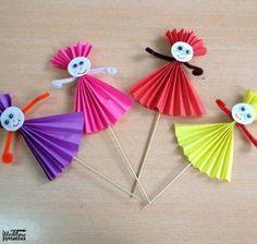 Animal Crafts For Kids, Spring Crafts For Kids, Art Activities For Kids, Paper Crafts For Kids, Summer Crafts, Craft Stick Crafts, Toddler Crafts, Art For Kids, Diy And Crafts