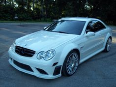2008 CLK63 AMG Black Series, rare Arctic White. 1 of 35 made - MBWorld.org Forums