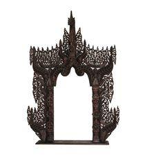 Espejo templo wengué 150x90cm