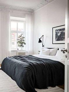 Tendenze arredamento 2018 - Camera da letto scandinava