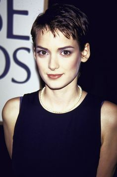 Winona Ryder glamorized the pixie cut in the '90s