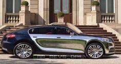 RENDERED RUMORS: Bugatti Galibier Back in Pipeline – As 2017 Super SUV!