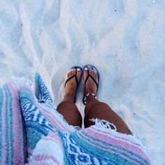 nothing beats the feeling of sand in between your toes <3