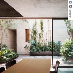 #Repost @dezeen  Architecture studio Ambrosi Etchegaray has slotted four new homes behind a historic facade in Mexico City but left enough space for three secluded patios.  Local heritage regulations prevented the architects from demolishing the original facade. But they saw this as an opportunity to develop a design that reinterprets the layout of the original building. Find out more on http://ift.tt/1ORsLIc #architecture #courtyards by jlambrosi