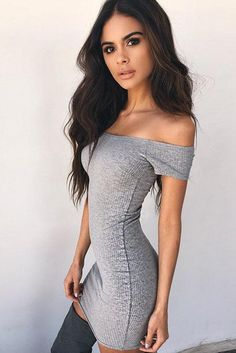 Solid Color Off Shoulder Short Sleeves Short Bodycon Dress Casual Party Dresses, Sexy Summer Dresses, Dress Summer, Party Dresses For Women, Club Dresses, Elegant Dresses, Sexy Dresses, Fashion Dresses, Bodycon Dress Parties