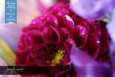 Purple Bridal Bouquet Photo by Joey Ikemoto