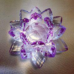 """#diamond #glass #light #shadow #flower #violet #pink #star #macro #closeup #swarovski #luxury #crystal #jwellery"""