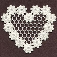 FSL Sweet Hearts 1 - 4x4 | What's New | Machine Embroidery Designs | SWAKembroidery.com Ace Points Embroidery