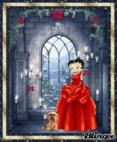 betty boop winter pics - Google Search