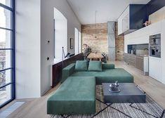 BJ Apartment / Slava Balbek and Anna Riabova