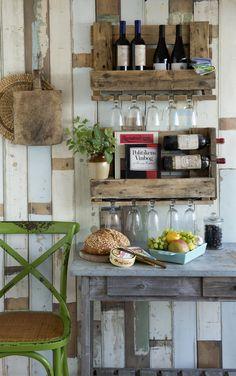 DIY: Lav en vinreol af gamle træpaller